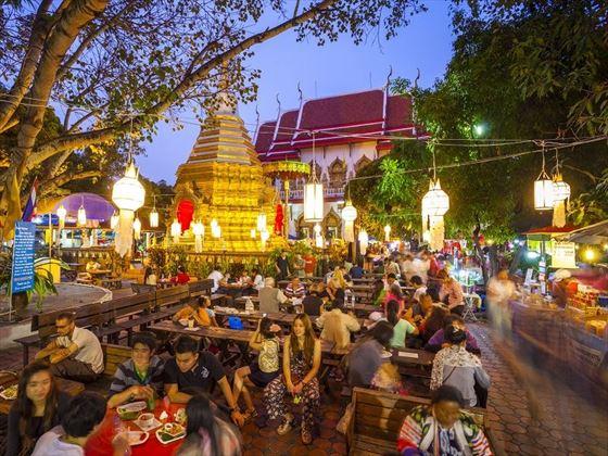 Wat Phra Singh Market Chiang Mai