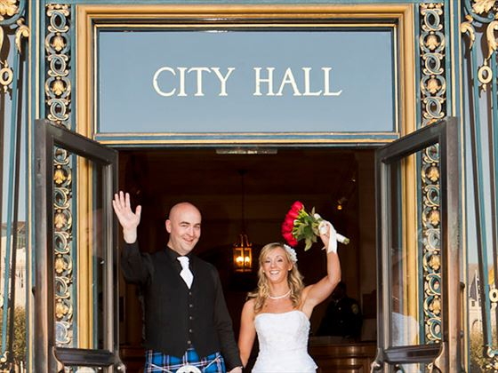 We did it! City Hall wedding