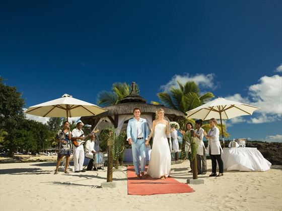 Stunning Maritim wedding gazebo