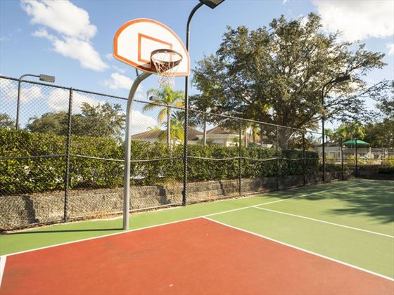 Example of Windsor Palms Home - Basketball Court