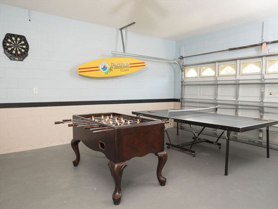 Example of Windsor Palms Home - Games Room