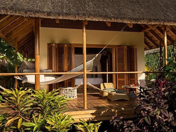 Verandah of a bungalow at Zuri Zanzibar