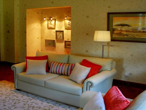 Aberdare Country Club living room