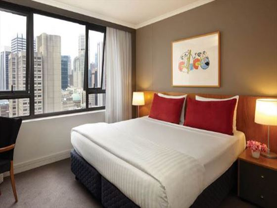 Adina Apartment Hotel Sydney bedroom