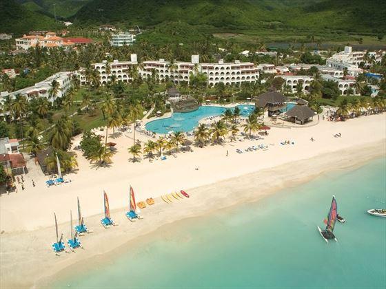 Aerial view of Jolly Beach Resort