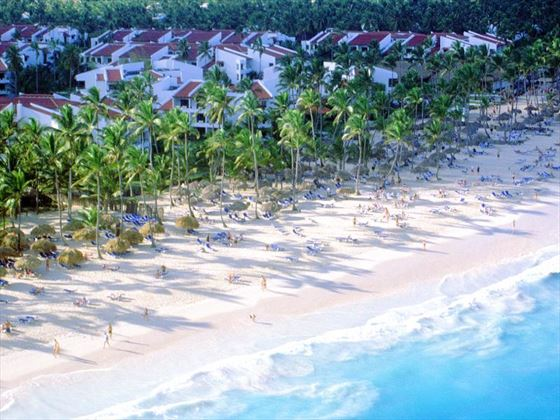 Aerial view of Occidental Punta Cana