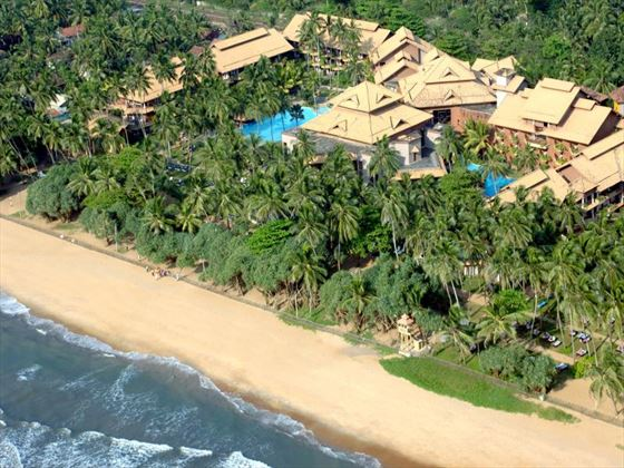 Aerial view of Royal Palms Beach Hotel