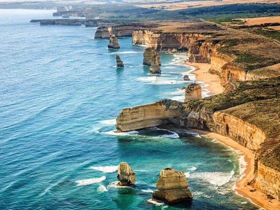 Aerial view of the Twelve Apostles
