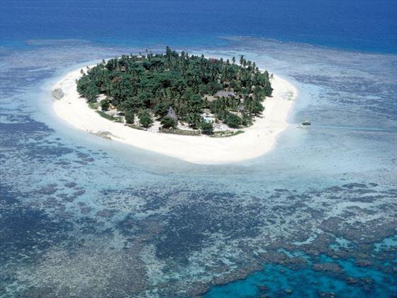 Aerial view of Treasure Island#