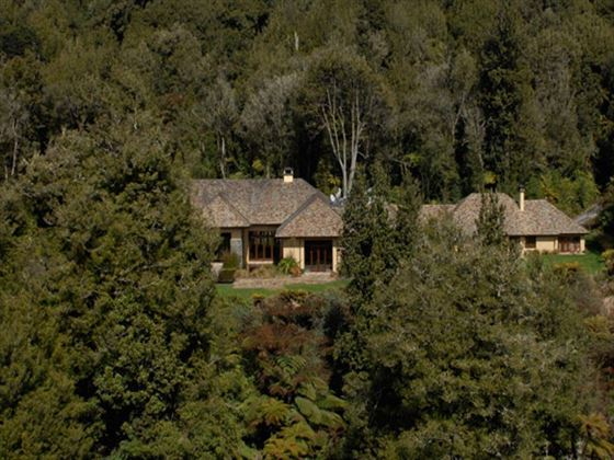 Aerial view of Treetops Lodge & Estate
