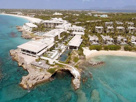 Aerial view of Viceroy Anguilla