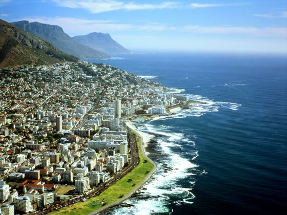 Aerial view of Western Cape