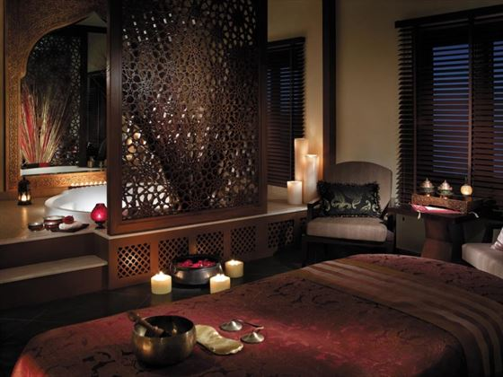Private treatment room at CHI, The Spa