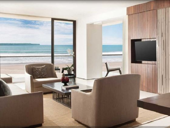 Alila Seminyak Beach Suite living room