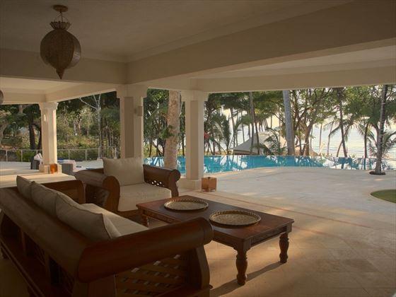 Presidential Villa/Boutique Hotel veranda