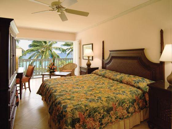 Almond Beach Resort Deluxe Beachfront room