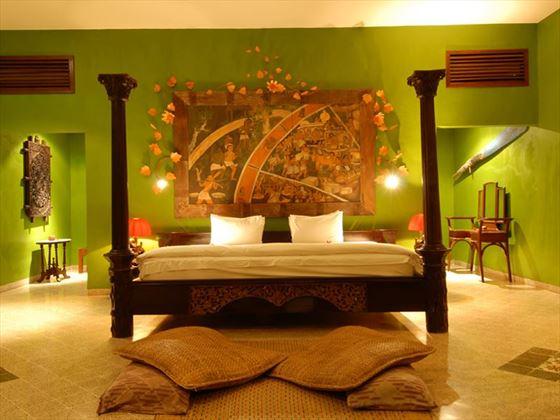 Aloon Aloon Garden Villa Bedroom, Hotel Tugu Lombok