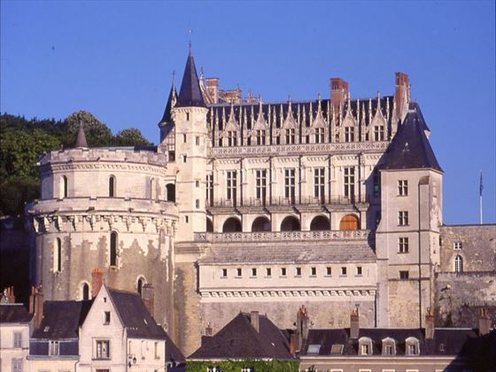 Amboise Chateau in the Loire Valley