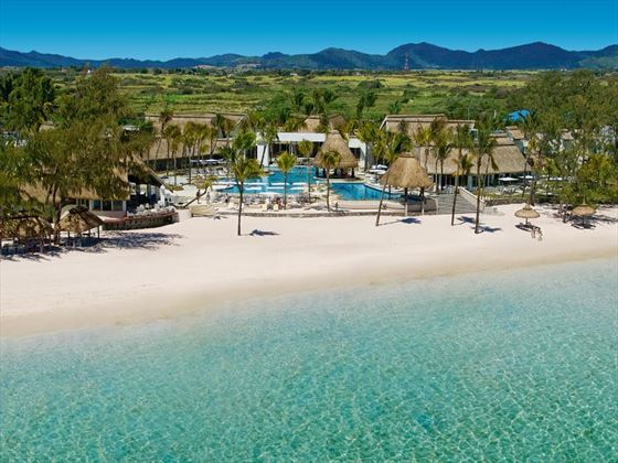 Panoramic view of Ambre Resort & Spa