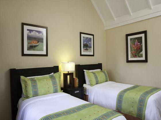 Amsterdam Manor Beach Resort Suite Twin bedroom