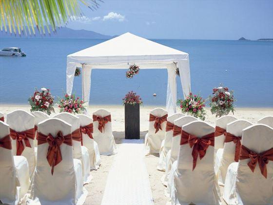 Western style wedding celebration