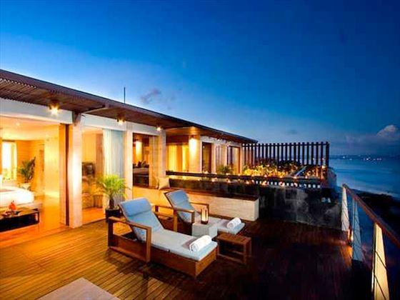 Anantara Seminyak Penthouse terrace