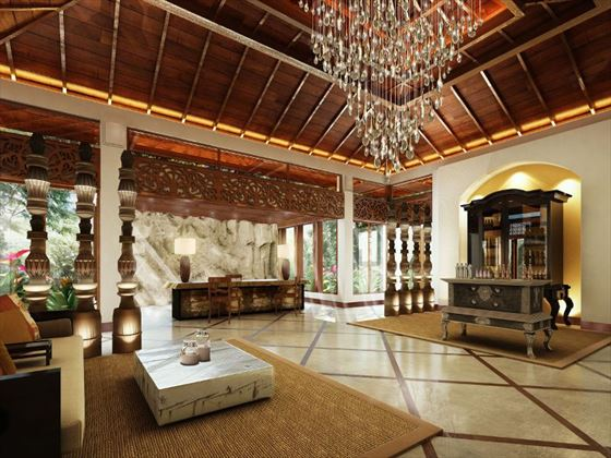 Anantara Tangalle Peace Haven spa reception