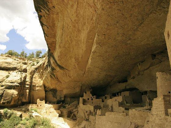 Anasazi palce ruins of Mesa Verde National Park