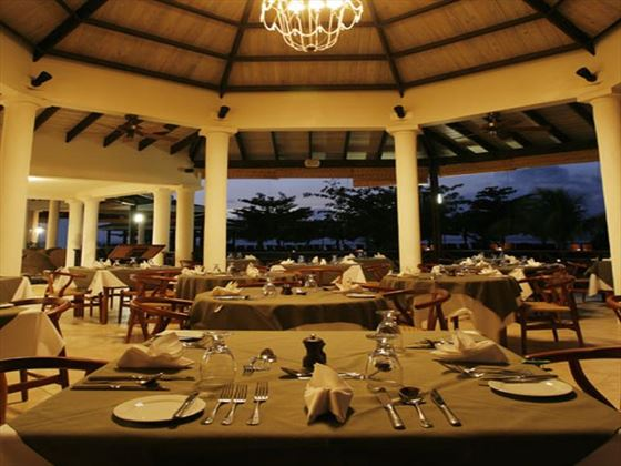 Arawakabana restaurant at Coyaba Beach Resort