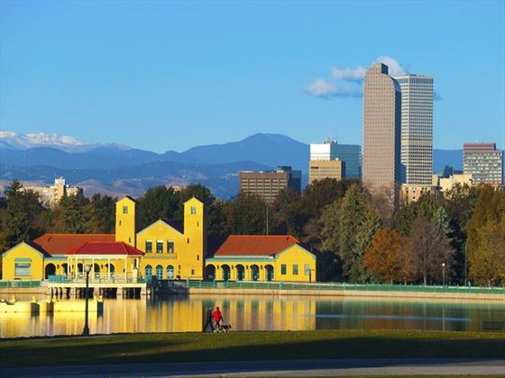 Autumn Denver skyline