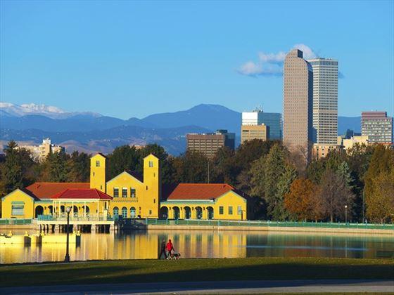 Autumn Denver skyline