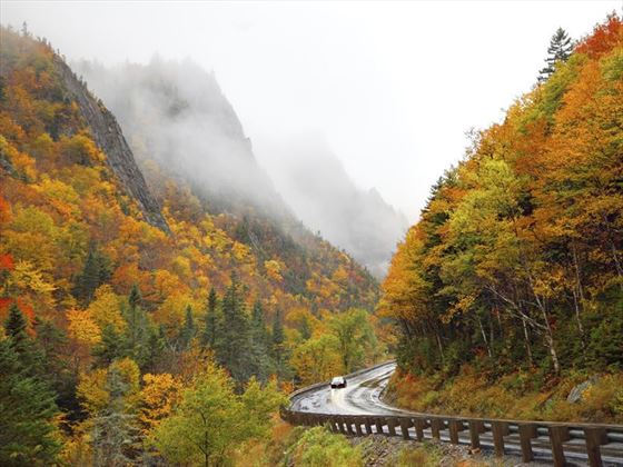 Autumn in Dixville Notch, New Hampshire