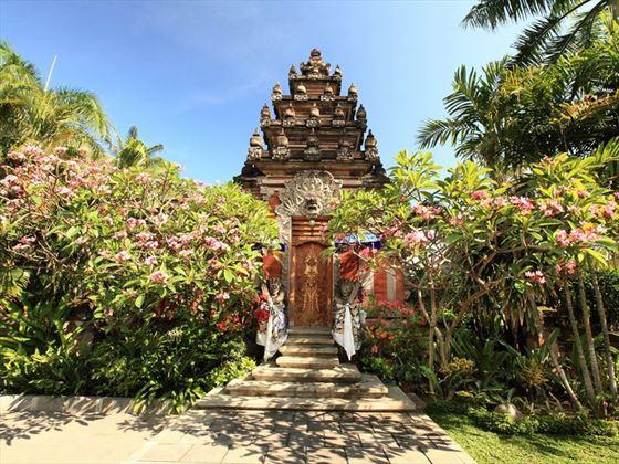 Balinese details at Bali Mandira