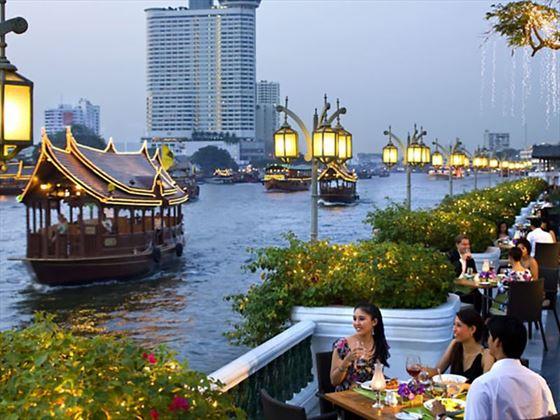 Riverside Terrace Restaurant, Mandarin Oriental, Bangkok
