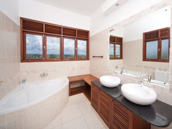 Bathroom at Lantana Galu Beach
