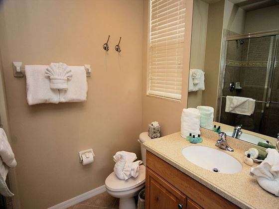 Bathroom at White Cap Boutique Condos