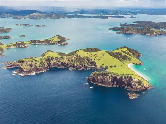 Bay of Islands from the air