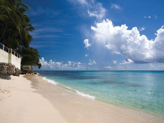 Beach at Waves Resort