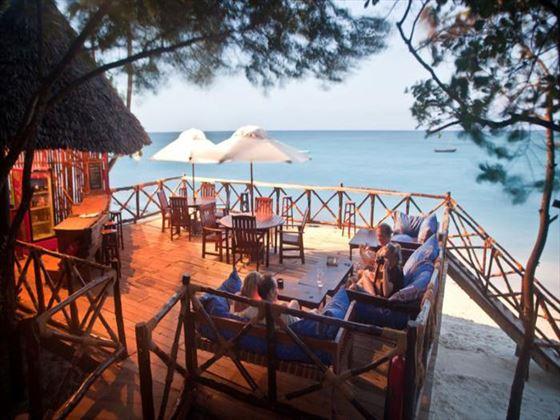 Beach bar at Ras Nungwi