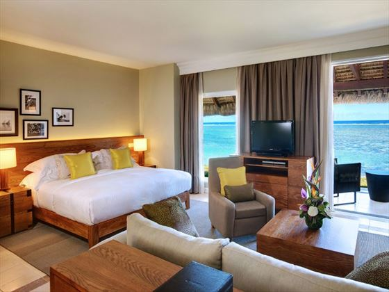 Beachfront Junior Suite at Outrigger Mauritius Resort