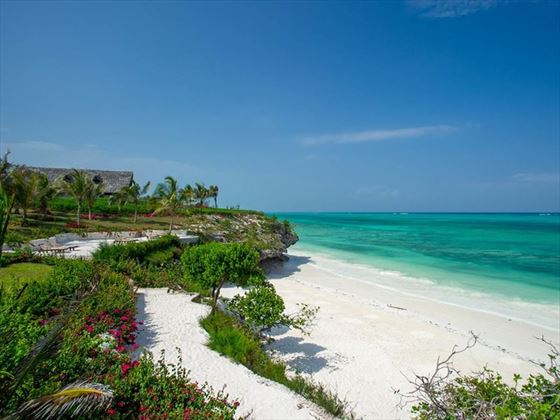 Beach at Zawadi Zanzibar
