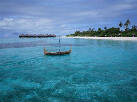 Beach view at Coco Palm Dhuni Kolhu
