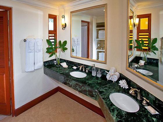 Beaches Negril Resort and Spa To-bedroom Suite bathroom