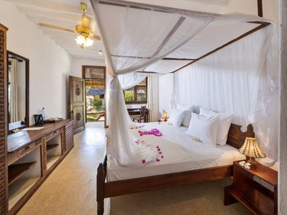 Bedroom at Sandies Mapenzi Beach Club