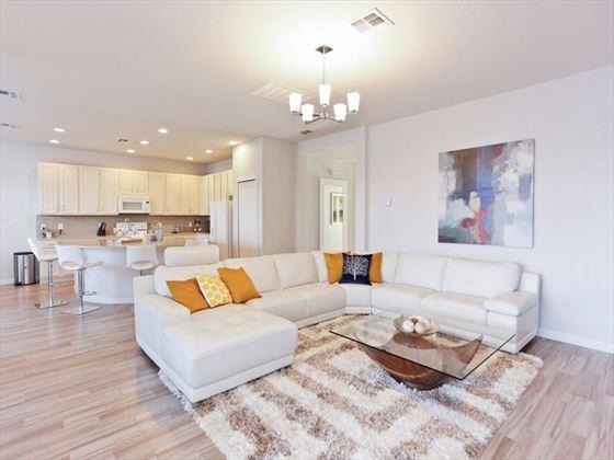 Bella Vida Resort Platinum Homes Lounge Area