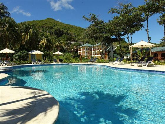 bequia beach hotel grenadines book now with tropical sky. Black Bedroom Furniture Sets. Home Design Ideas