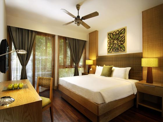 Berjaya Langkawi Resort Rainforest Chalet bedroom