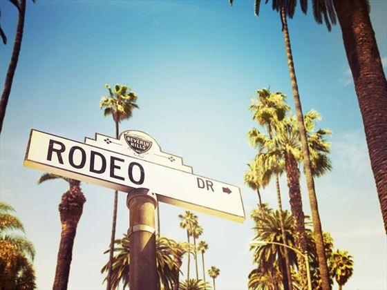 Beverly Hills' Rodeo Drive
