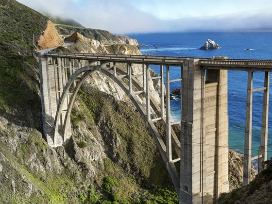 Bixby Bridge on Route 1, California