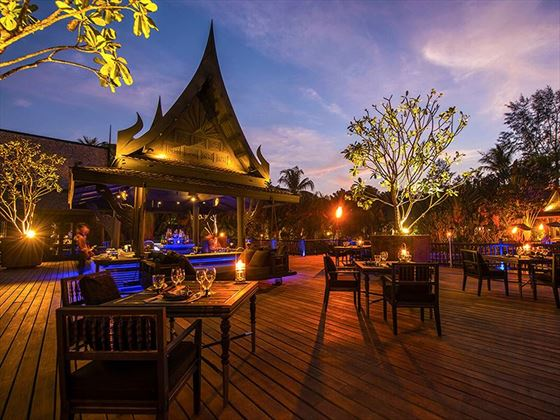 Black Ginger Restaurant by Twilight, The Slate, Phuket